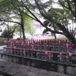 Estatuas Jizo, en el templo Zojo-ji, en Tokio