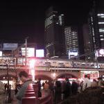 Estación de tren Shimbashi, en el centro de Tokio