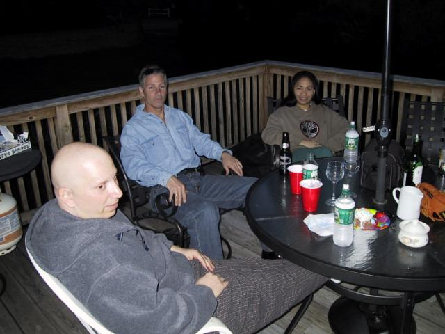 Steve, Larry y Libby