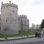 Las murallas del castillo de Windsor