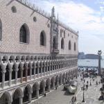 Fachada del Palacio Ducal de Venecia