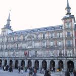La Casa de la Panadería, en la Plaza Mayor de Madrid