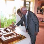 Los abuelos en sus bodas de diamante