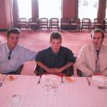 Jorge, Gonzalo y Román