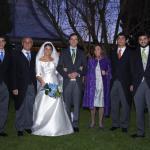 Íñigo, Fernando, Sofía, Juan, Merche, Gonzalo y Fernando Jr.
